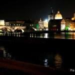 beleuchteten Stadt