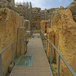 Eingangsportal Tempelanlage Ggantija